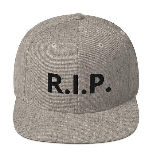 R.I.P. Snapback Hat Heather Grey