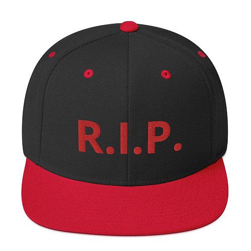 R.I.P. Snapback Hat Black/Red
