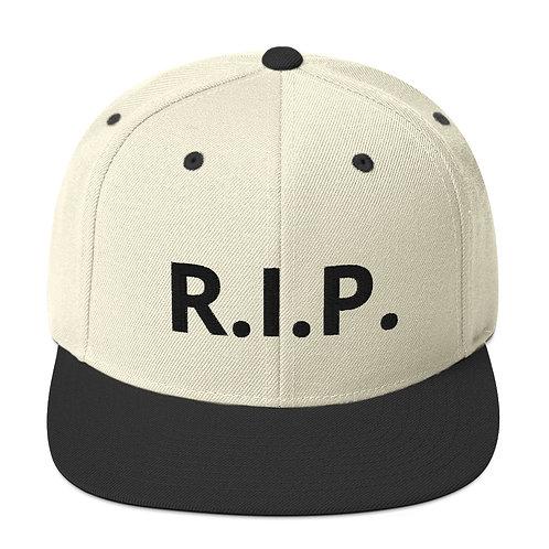 R.I.P. Snapback Hat Natural/Black