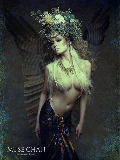 Dark Angel - Art Print 001 ( Matte Fine Art Paper )