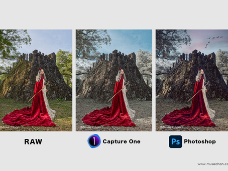 Raw - Capture One - Photoshop
