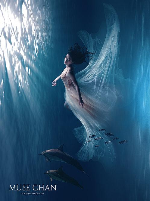 Underwater - Art Print 010 ( Matte Fine Art Paper )
