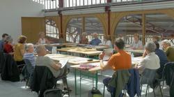 Réunion de la co-maîtrise d'ouvrage avec les 2 agences d'architectes