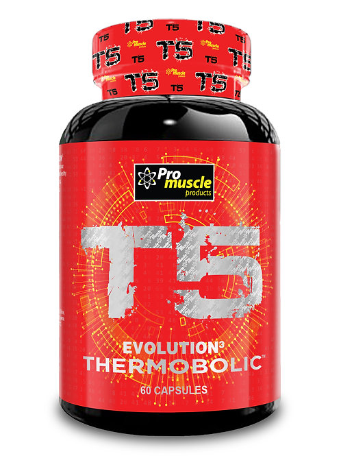 Pro Muscle T5 Evolution 2 Fat Burner - 60 Caps