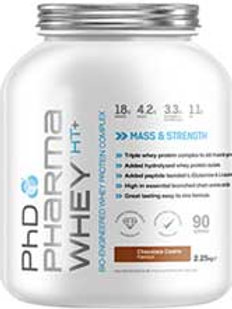 phd pharma whey ht 2.3kg  - choc orange flavour