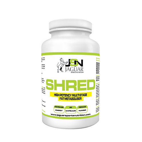 SHRED - No.1 Thermogenic Fat Burner - Intense Weight Loss - 60 Caps -APRIL SALE!