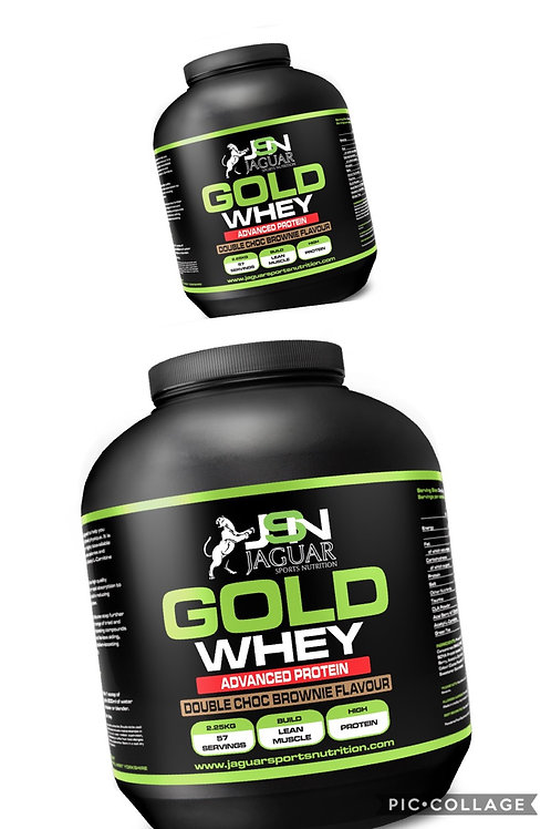 X2 TUBS GOLD WHEY PROTEIN 4.6kg
