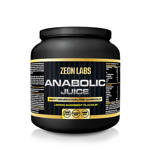 ZEON LABS ANABOLIC JUICE - PRE WORKOUT