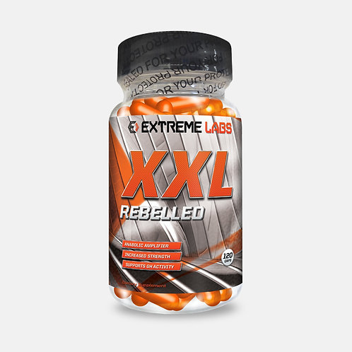 Extreme Labs XXL Rebelled Test Booster Anabolic Muscle Growth 120 caps