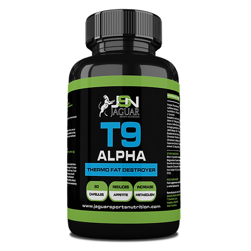T9 ALPHA FAT BURNER (60 CAPS)