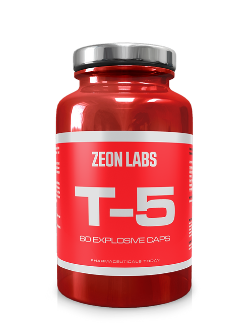 ZEON LABS T5 EXTREME FAT BURNER- zion labs
