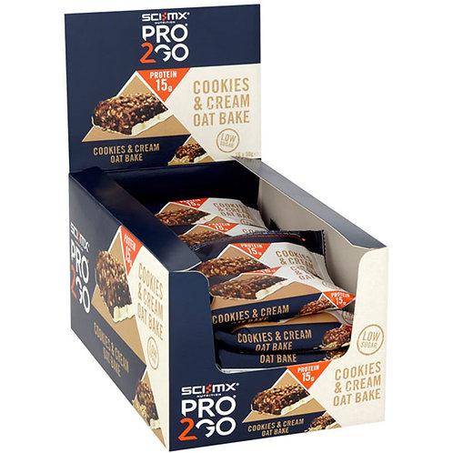 Sci MX Pro 2Go Oat Bake Bar 16 x 50g Bar(s)