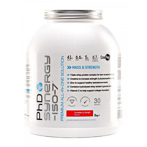 phd synergy iso7 2kg  - vanilla flavour