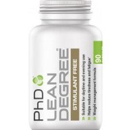 phd lean degree stimulant free 90 caps