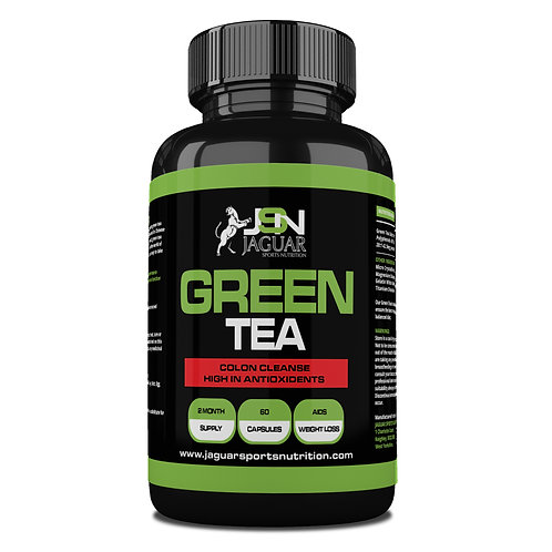 Green Tea High Strength 850mg Capsules Detox Colon Cleanse - 2 month supply