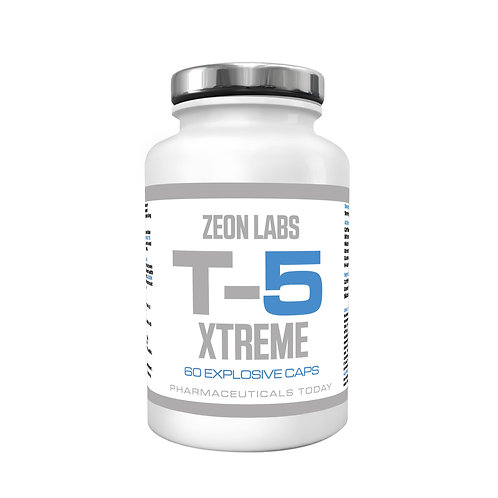 ZEON LABS T5 XTREME FAT BURNER - 60 CAPS