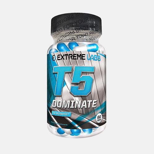 extreme labs T5 Dominate – 60 Caps