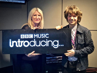 Interview and live session on BBC Introducing in Manchester