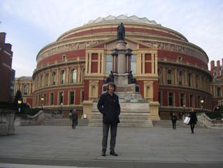 James performs at The Royal Albert Hall