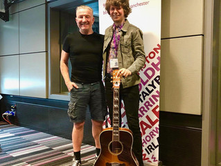 Interview and live session with Mike Sweeney BBC Radio Manchester