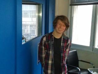 James plays live on Fab Radio International.