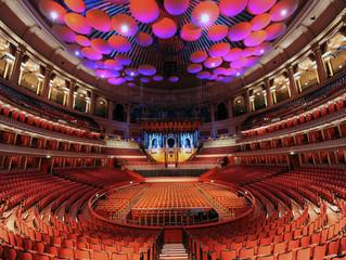 James to play Royal Albert Hall