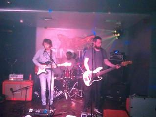 James and band at B Fest 2016 at Blind Tiger