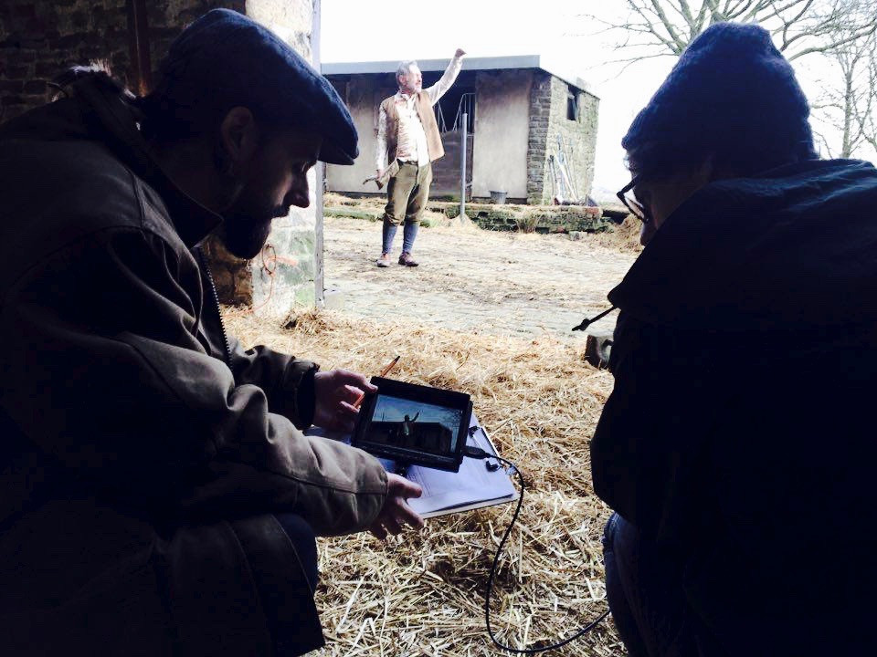 Working with filmmaker Made By Boone and actor Dave Crellin