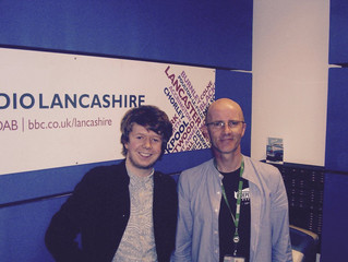 Interview on BBC Lancashire Introducing with Sean McGinty