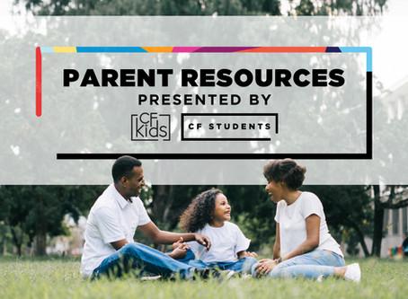 Resources for Parents/Recursos para padres
