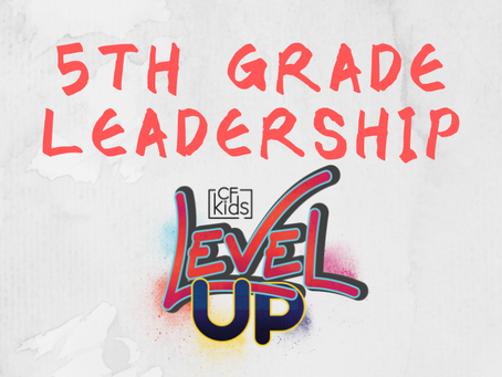 Virtual 5th Grade Leadership 2021