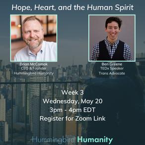 Hummingbird Humanity: May 20th