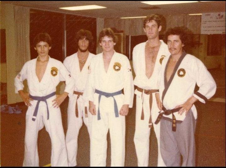 Bill Heimberger at Jhoon Rhee Institute 1977