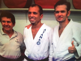 Bill, Royce Gracie & Alan Heimberger