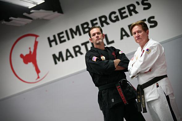 Master Heimberger with Heimberger's Martial Arts