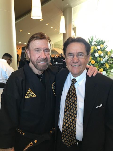 Bill Heimberger & Chuck Norris