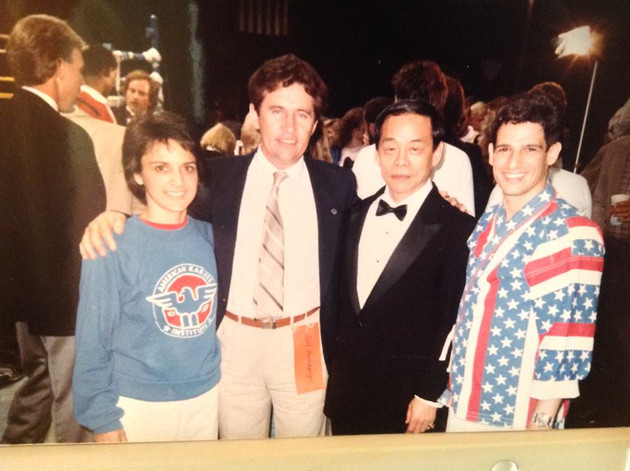 Bill Heimberger, Jhoon Rhee, Angel & Regina Gonzalez