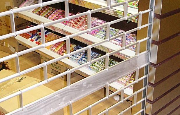 Roller Grille Shutter for Grocery shops