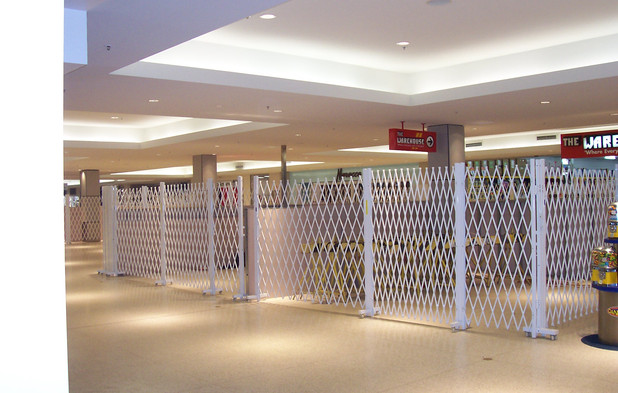Security Barrier for Warehouse Store in