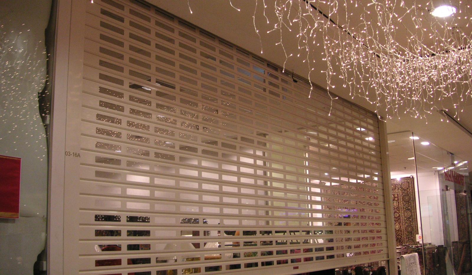 SVSP Roller Shutter for shopping malls.J