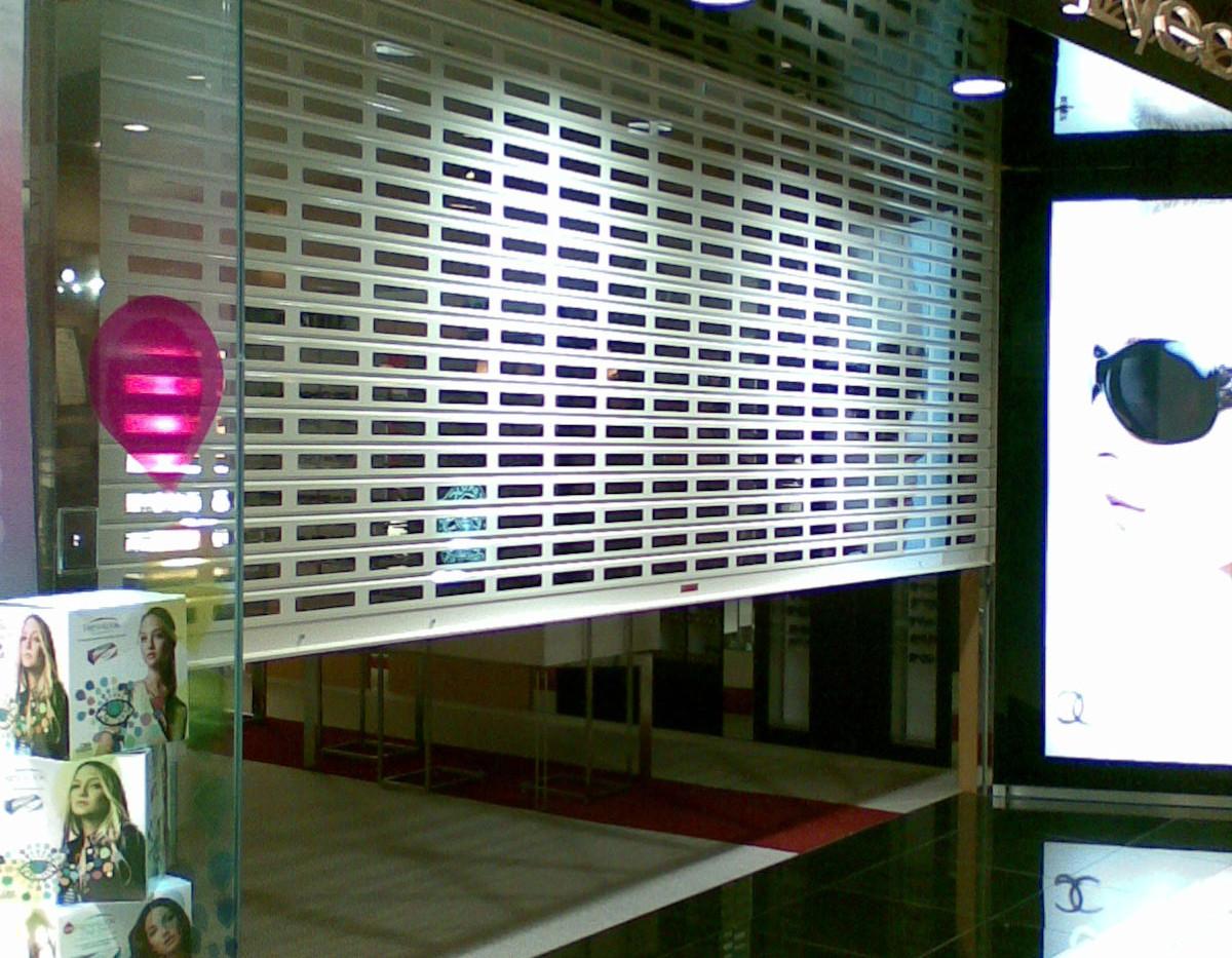 SVSP Roller Shutter for shopping malls (