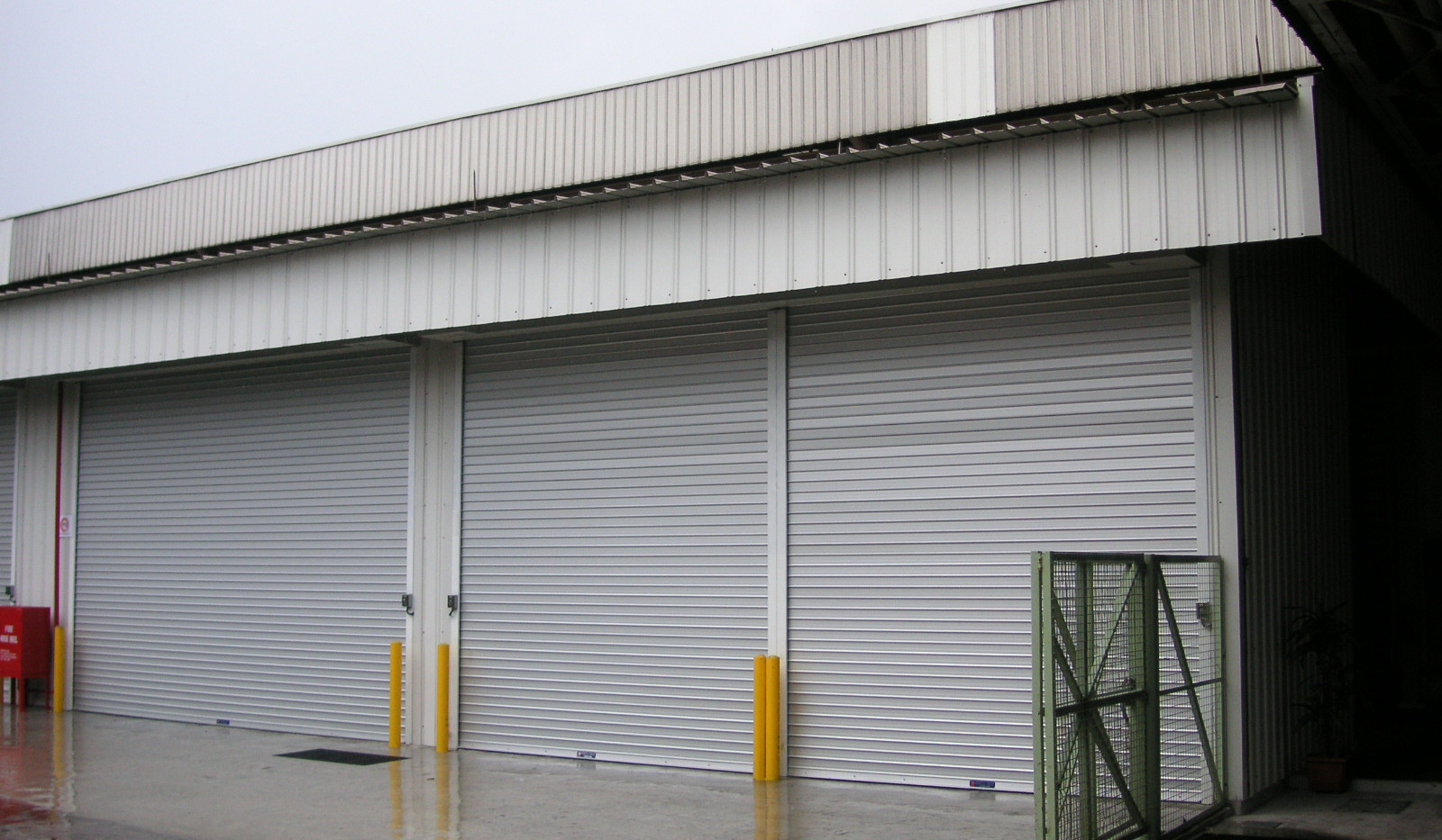 Aluminium Roller Shutter for factories.J
