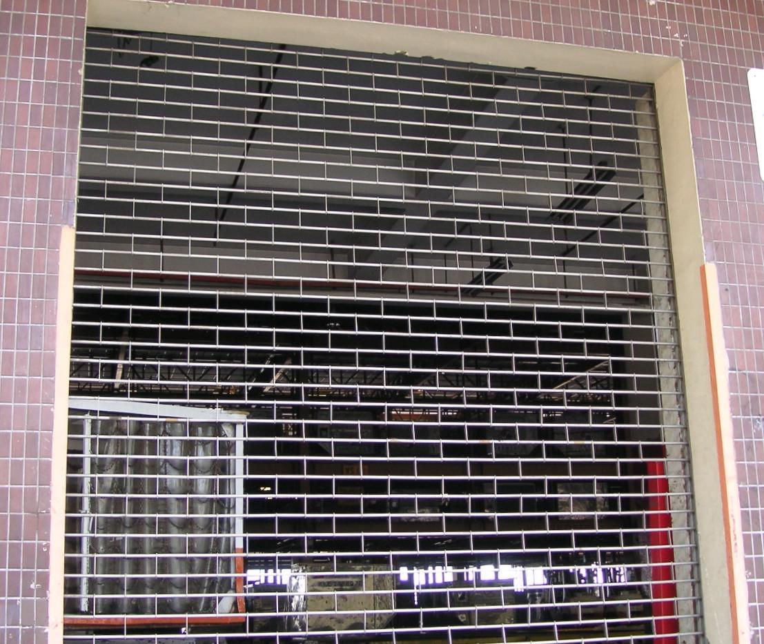 Roller Grille Shutter for warehouses_edi