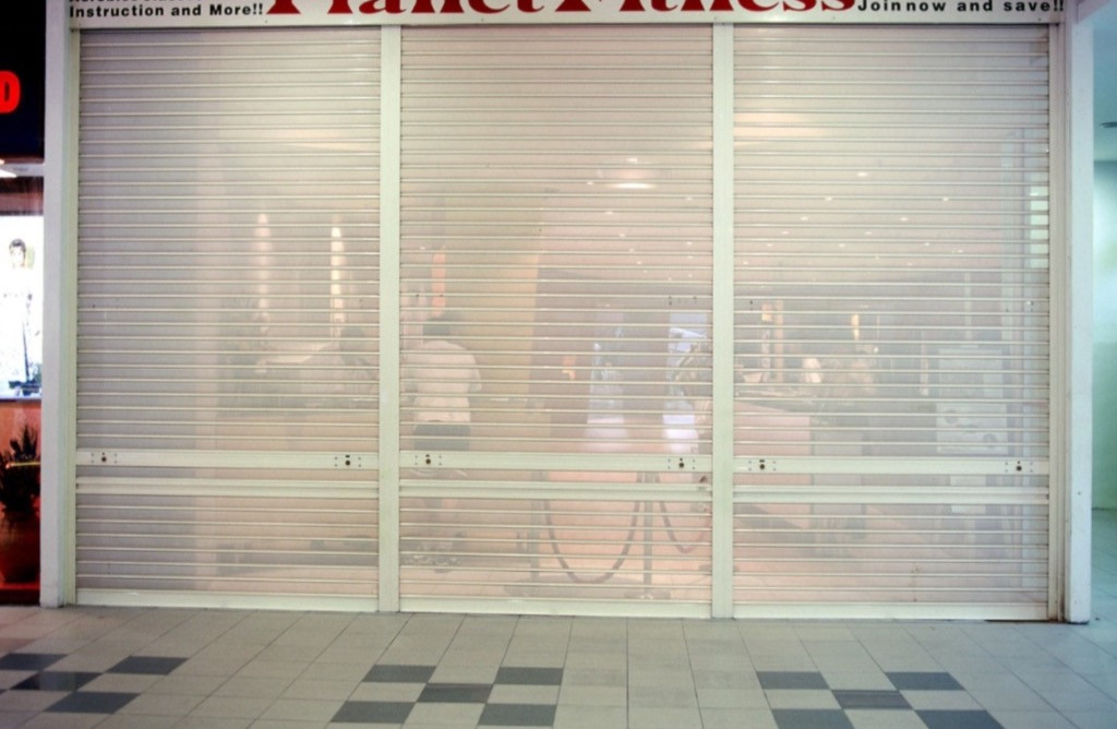 Perforated Roller Shutter _ Fitness Outl