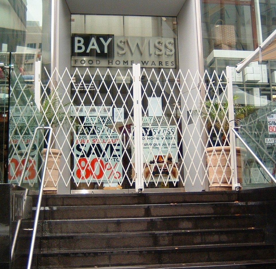 Security Barriers- at Bay Swiss Food Hom