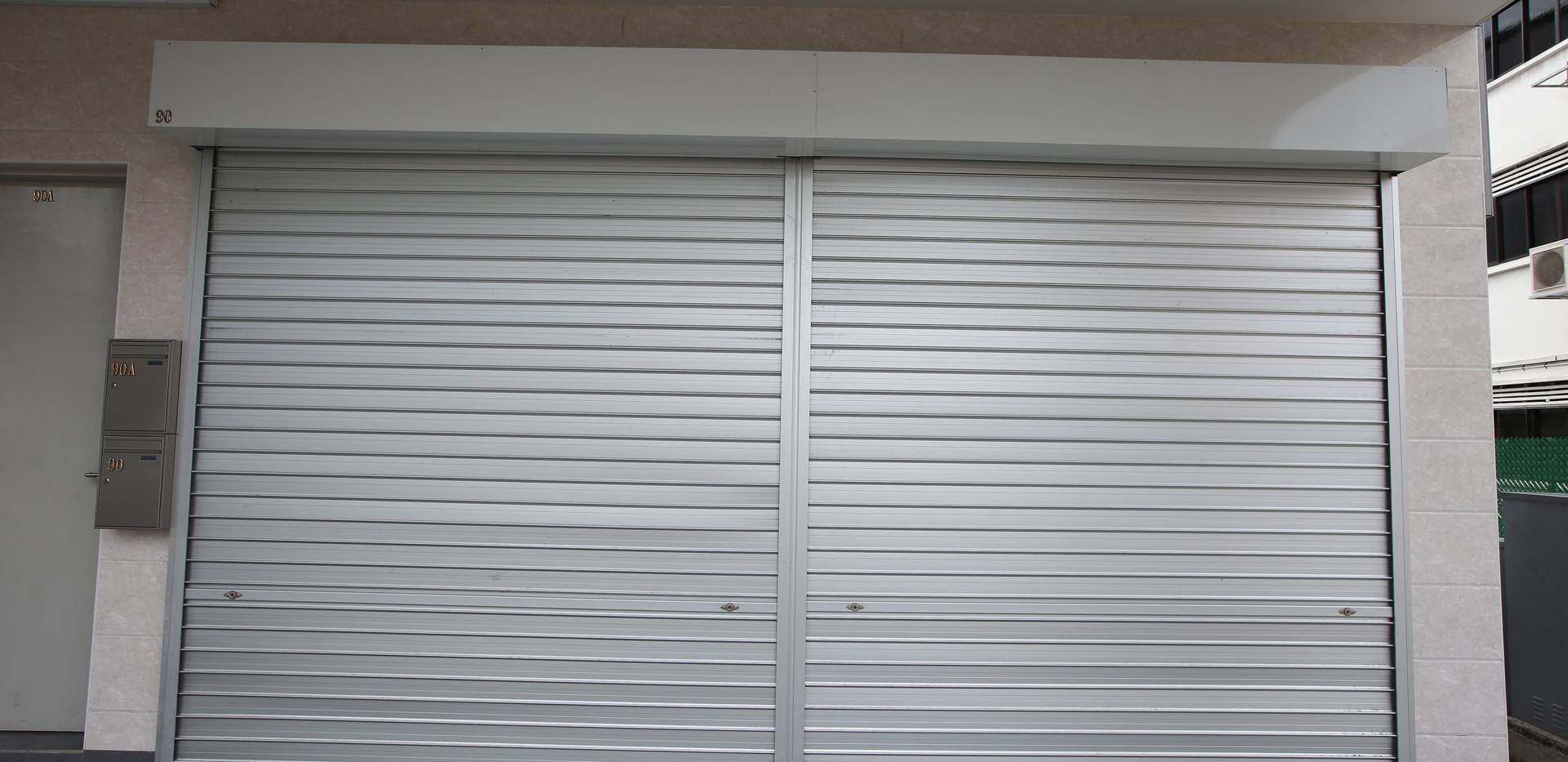 Aluminium Roller Shutter _ Factories 2.J