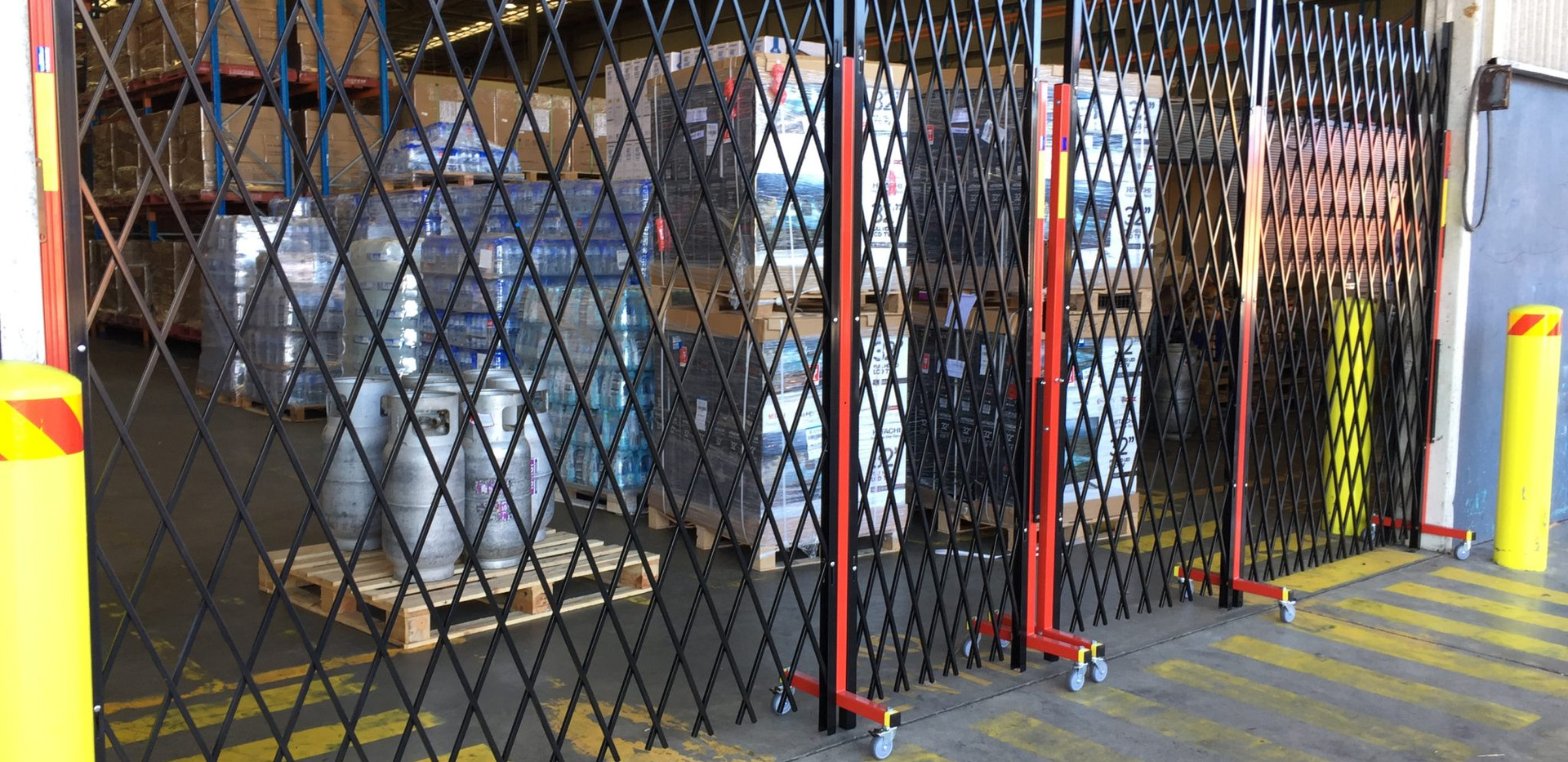 Security Barriers as replacement barrica