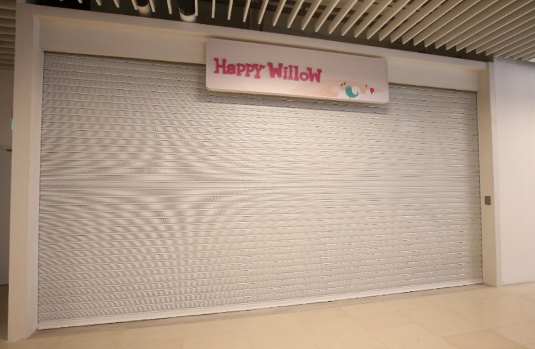 Aluminium Roller Shutter _ Shopping Mall