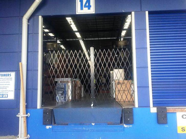 Security Barriers for warehouse security