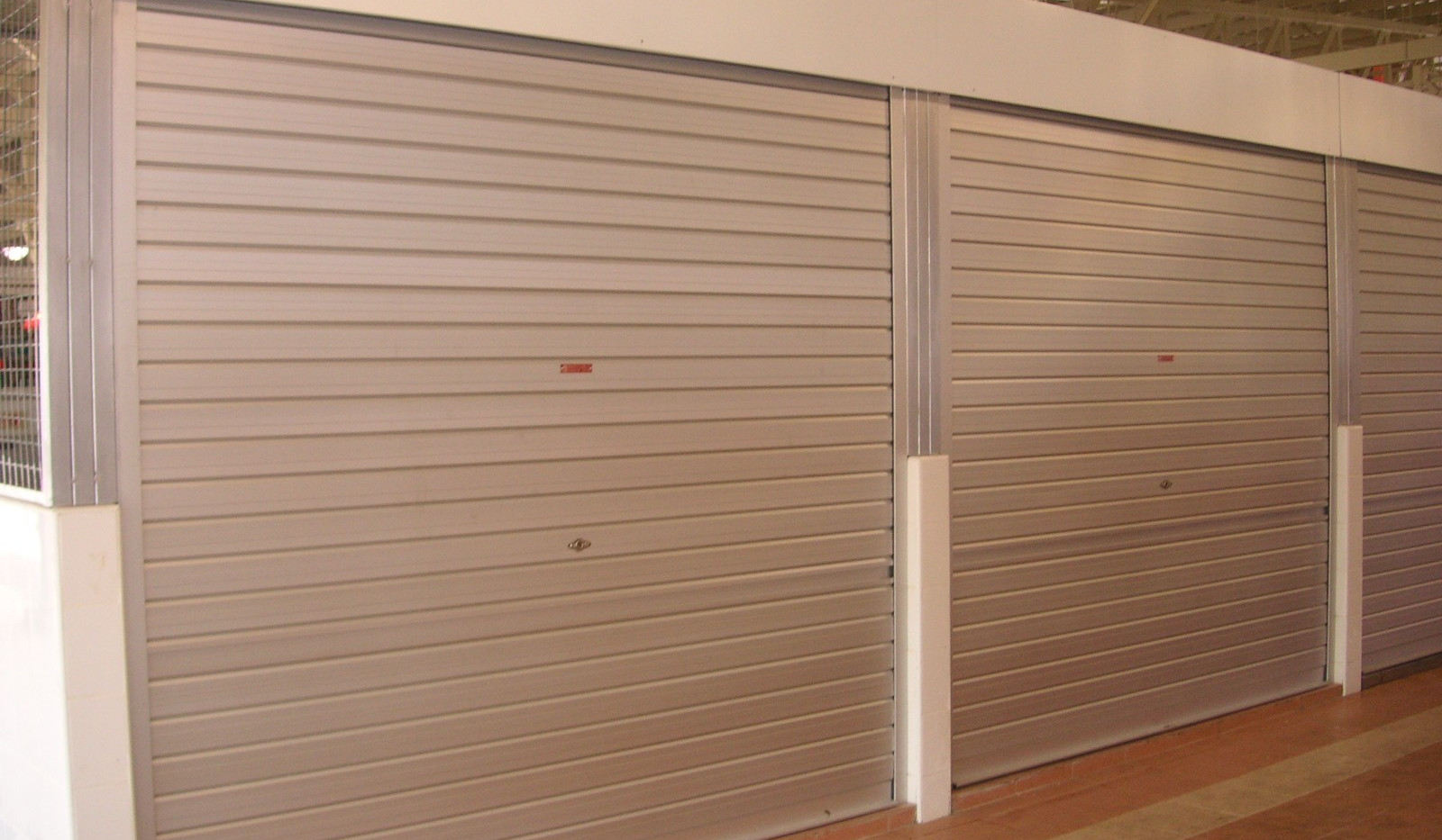 Aluminium Roller Shutter _ a typical mar